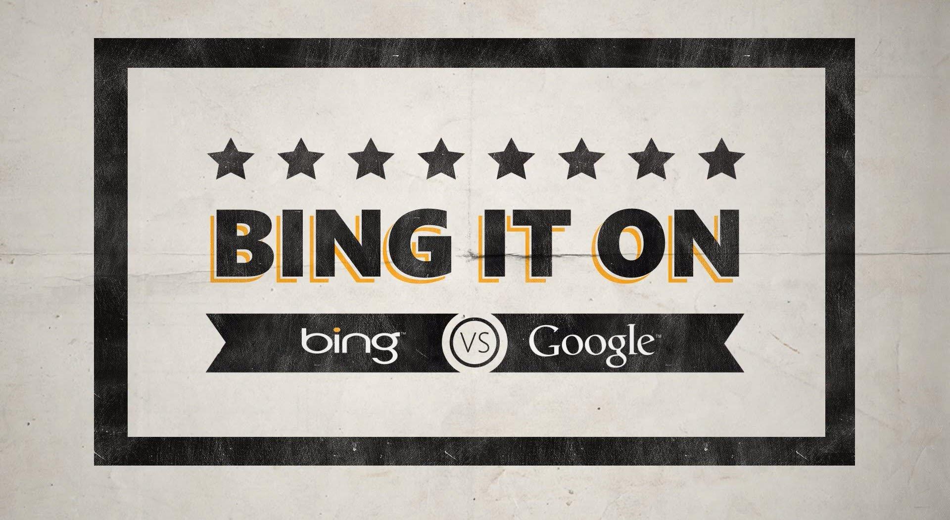 Bing It On, il servizio di Bing che permetteva di confrontare Bing con Google.