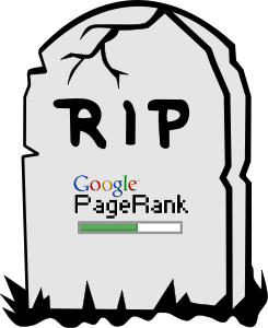 La Toolbar di PageRank è Morta